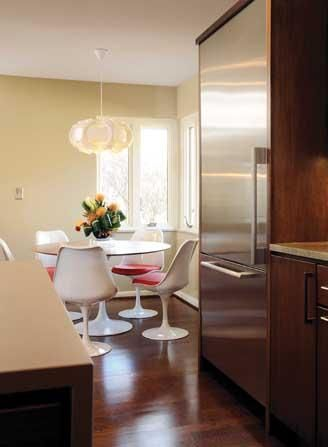 Kitchen Remodel Shies Away From Cramped Quarters And Veers Toward An Open Design