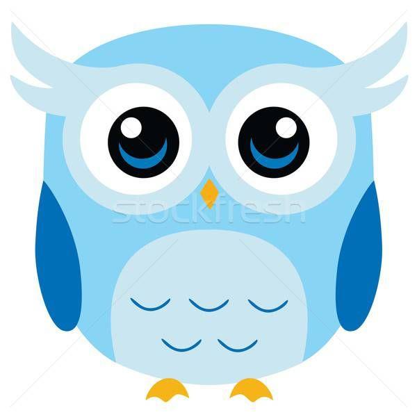 Cute Owl Vector Vector Illustration By Doddis Doddis Doddis Stockfresh 7239273 Owl Vector Owl Wallpaper Owl Cartoon