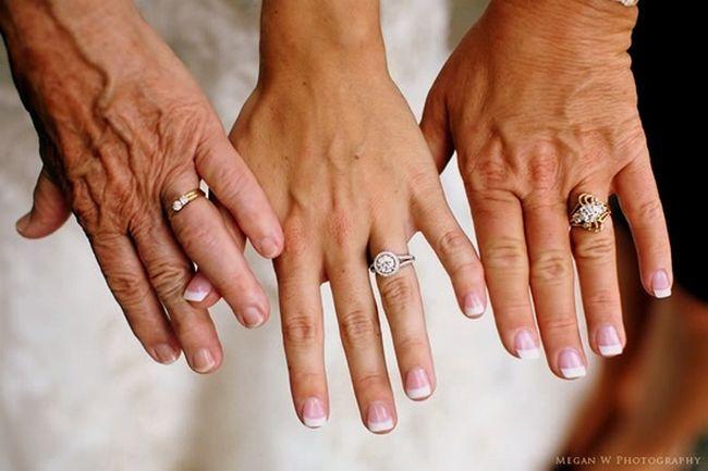 Emily, Mom, Grandma. . . 21 Wedding Photo Ideas for your Bridal Party   Confetti Daydreams
