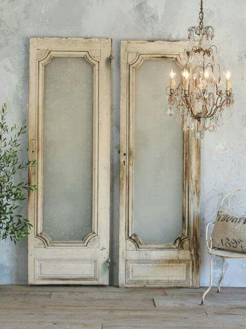 Unique Doors, Farmhouse Chic, Wardrobe Doors, Gem, French Doors, Vintage  Interiors, French Country, Interior Doors, You Must