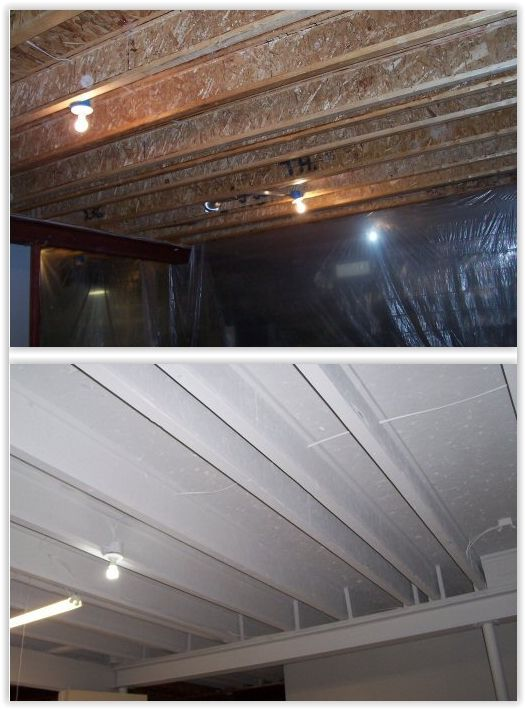 1000 Ideas About Exposed Basement Ceiling On Pinterest