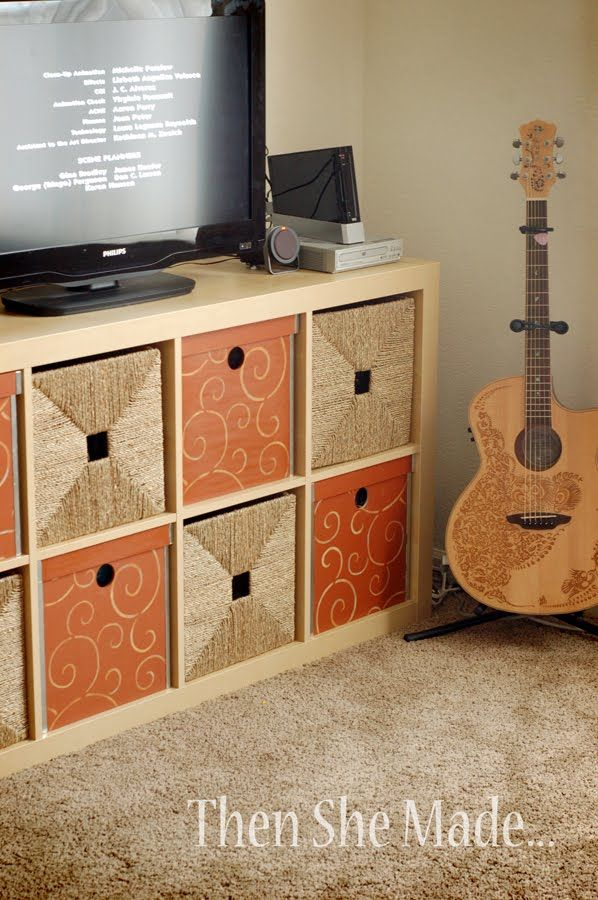 Then she made...: Then She Made... Storage solutions