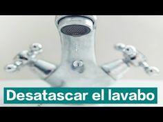 Cómo desatascar tuberías o desagüe del lavabo. ¡Fácil y económico!