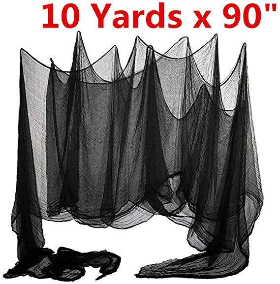 "Amazon.com : Mrwan Halloween Creepy Cloth 90"" X 10 Yards"