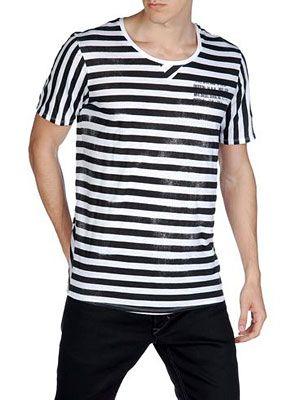 Ριγέ t-shirt