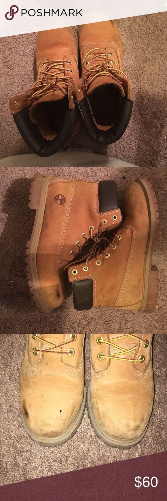 Timberland Boots Fairly worn timberland boots size 7M (women's 9) Timberland Shoes Winter & Rain Boots
