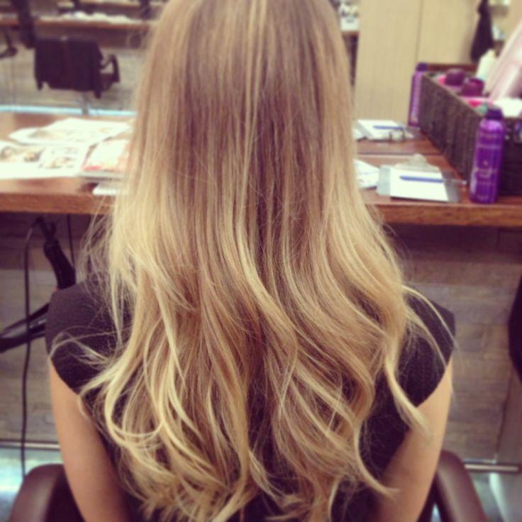 Soft belliage multi tone blonde