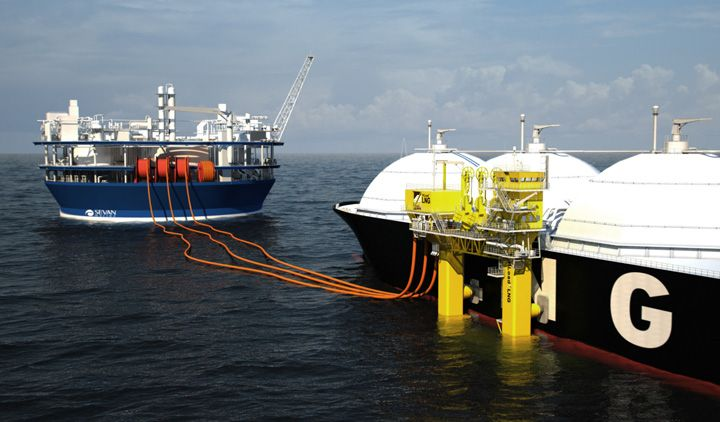Sevan Marine Acquires Technology Which Could Solve High Seas LNG Transfer Problem