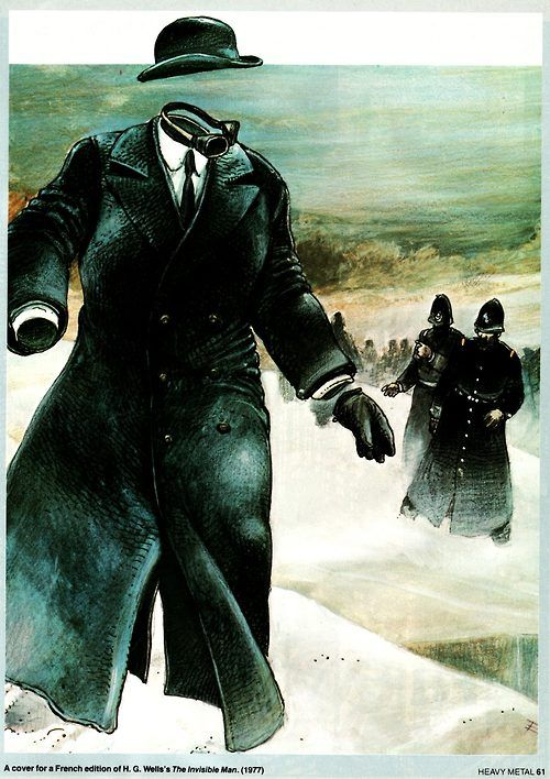 Enki Bilal - The Invisible Man