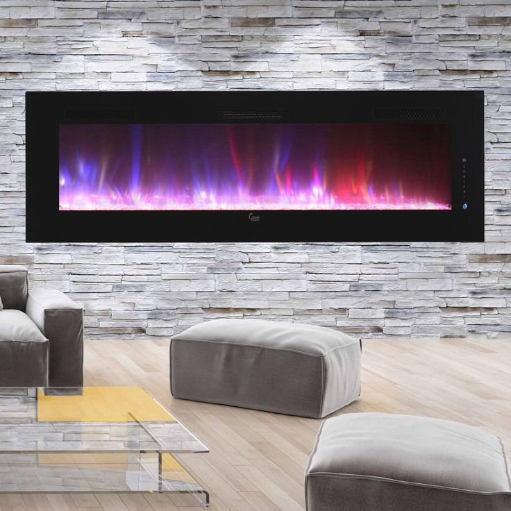 Luxury Linear Multicolor Flame Electric Fireplace                                                                                                                                                                                 More