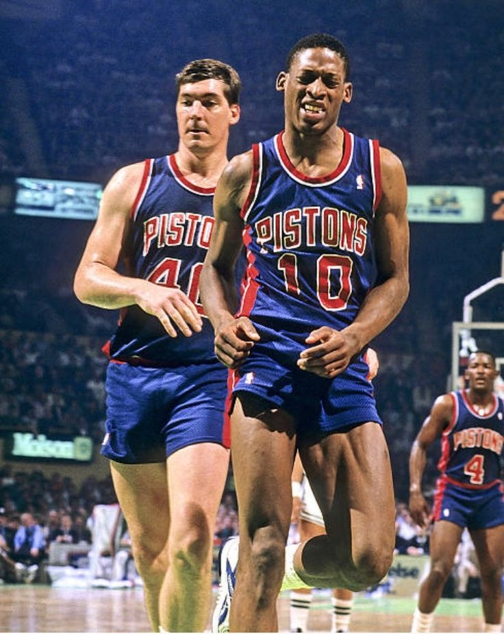 Pin by Jennifer Orcutt on Bill Laimbeer Detroit pistons