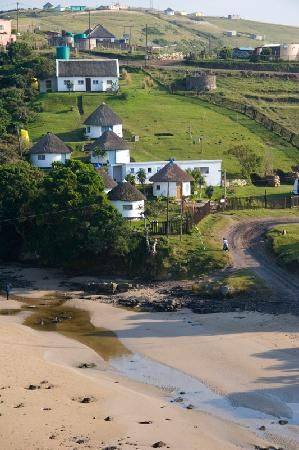 Coffee Bay is a small community of interest in Wild Coast, Eastern Cape Province, South Africa.