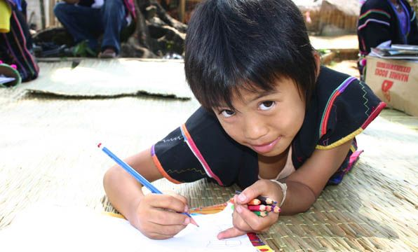 For just $27 you can provide 4 children from rural Vietnam with all the learning essentials they need for school! #giftsforgood