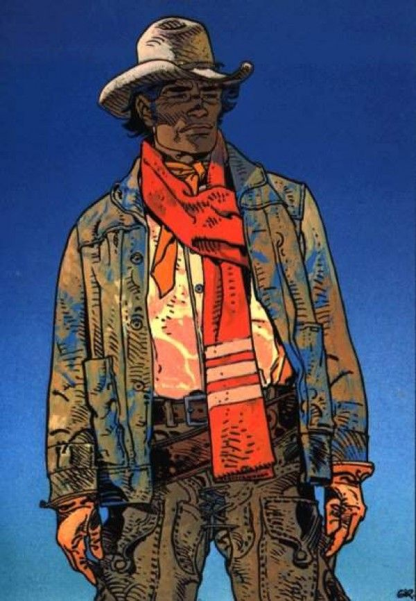 Mike Blueberry by Jean Giraud / Moebius (RIP).
