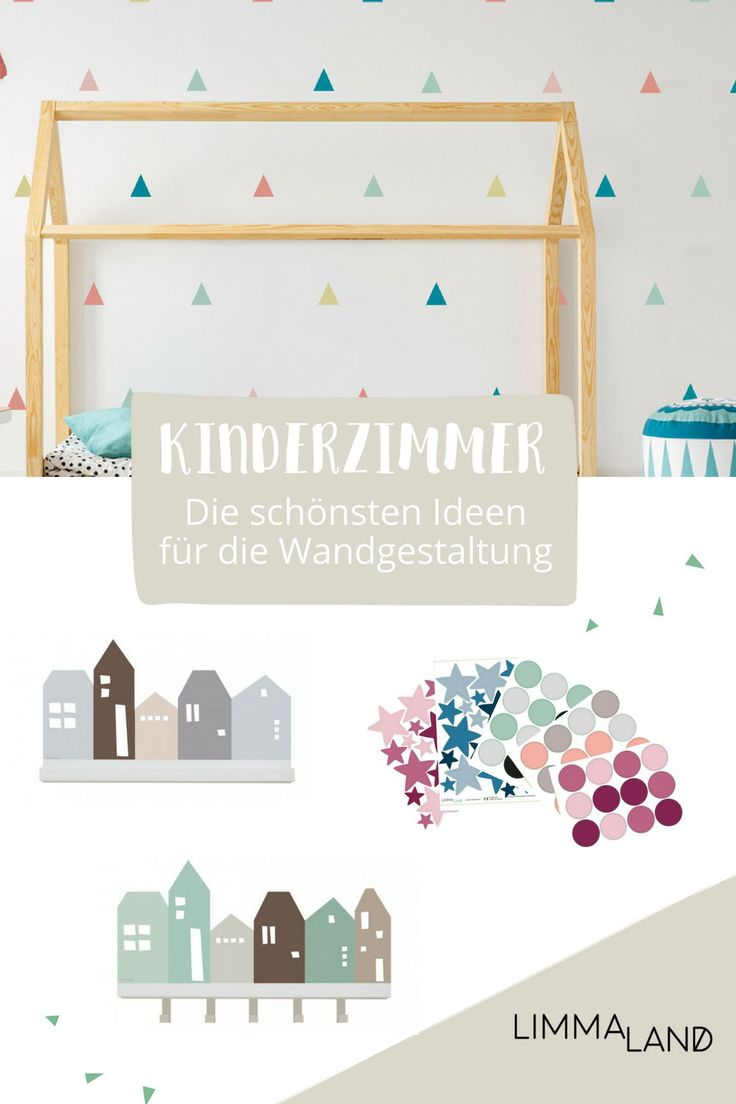 Wie gestalte ich schöne Wände im Kinderzimmer? Ganz einfach: mit unseren  Wandtattoos. Wir haben eine große Auswahl und es sollte für jeden etwas  dabei sein. Unsere Folien sind für Kinderzimmer geeignet. In  Deutschland hergestellt. Riechen nicht. Und lassen sich einfach  anbringen und wieder abnehmen. Probier es aus! Gerne senden wir auch  Klebemuster zu. www.limmaland.com #limmaland #kinderzimmer  #wandgestaltung #kinderzimmerwand #babyzimmer