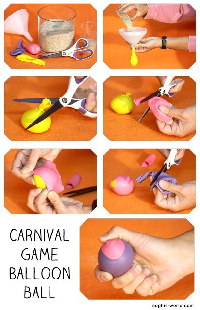 Carnival Game Baloon ball DIY