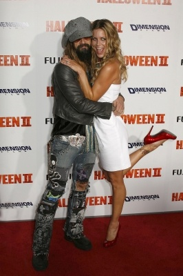 rob zombie and wife sheri moon..love these 2!