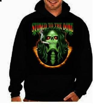 stoned to the bone unisex mens womens  hoodies Funniest