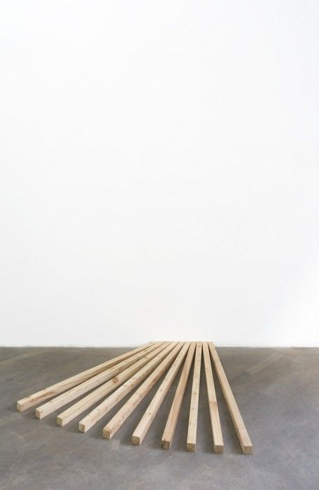 Love! Like! Share! Julien Bismuth Wholes and parts, 2011 wood