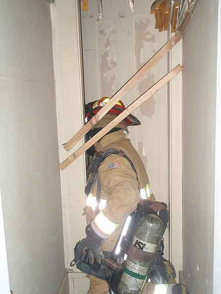 Firefighters must know how to reduce their profile to navigate structures during incidents. Tom Kiurski discusses a fire training drill he performed with his department that took reduced-profile training to the next level.