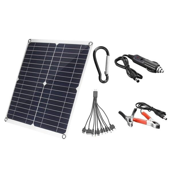 Peak Power 400w Solar Panel Single Panel 50w With 10 60a 12v 24v Controller Pwm Solar Panel Charging Controller For Rv Marine Lcd Display Wish Em 2020 Painel Solar Rv Controladora