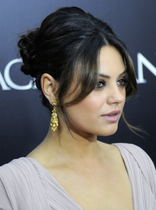 98 best mila kunis images on pinterest actresses artists and mila kunis wows with elegant updo pmusecretfo Image collections