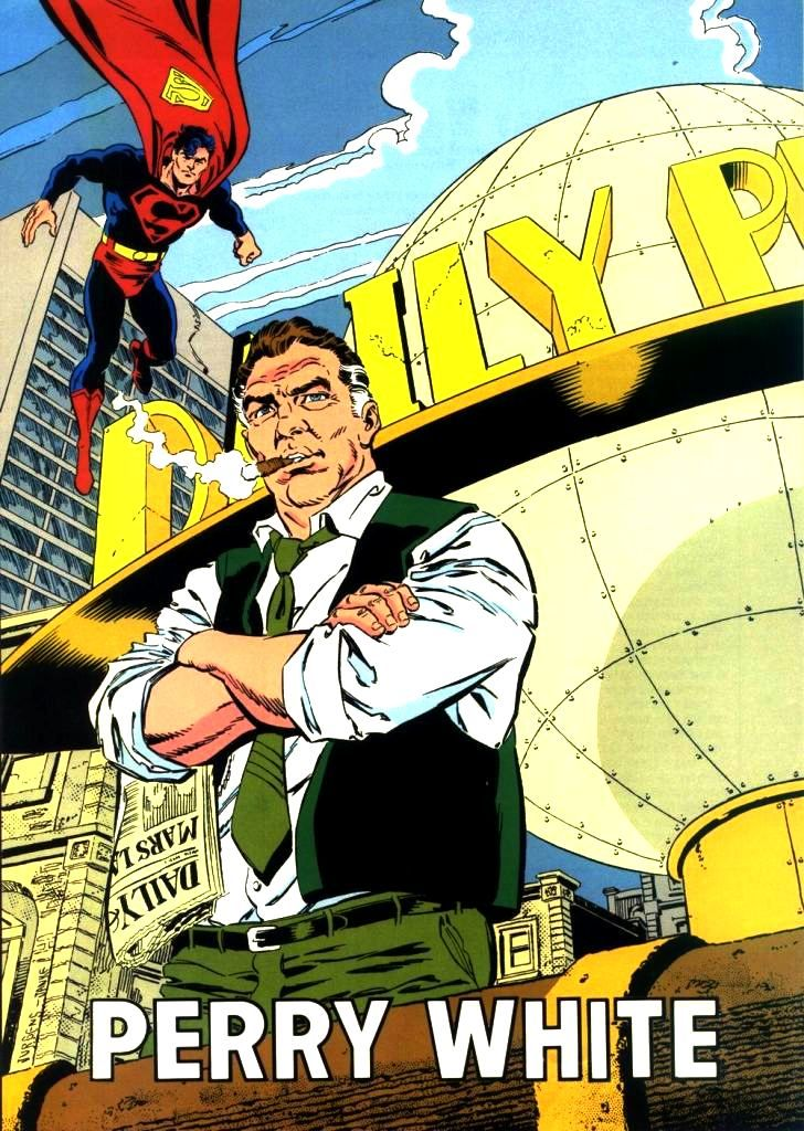 Perry White DC Comics - Google Search