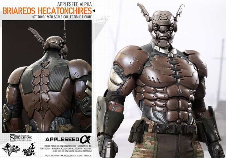 Appleseed Alpha Briareos Hecatonchires Sixth-Scale Figure