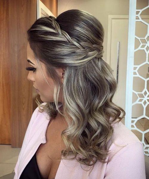 35 Wunderschöne Abschlussballfrisur für langes Haar - Abschlussballfrisuren