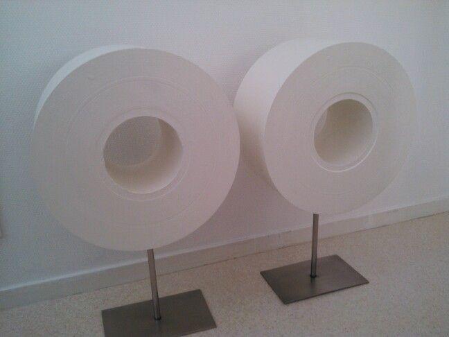 paper rolls by www.marietteschrijver.nl