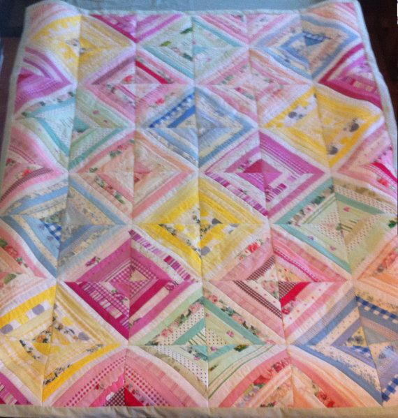 Custom quilts by ThreadfullyPretty on Etsy