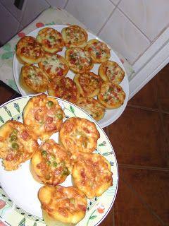 Receptek innen-onnan: Pizza muffinformában