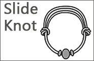 Sliding Knot Beading Technique: Knoten Knüpfen, Adjustable Knot, Sliding Knot, Knot Pdf, What Knot, Knot Beads