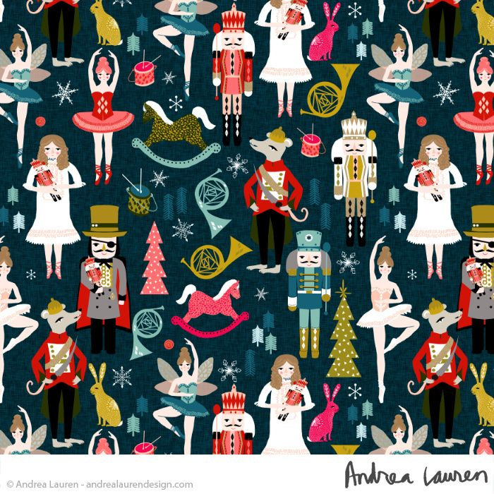 Andrea Lauren Design- linocuts, prints, and patterns
