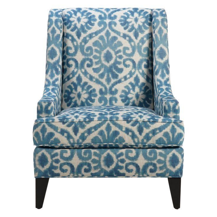 Emerson Chair, Mairi/Peacock   Ethan Allen US. Living Room ...
