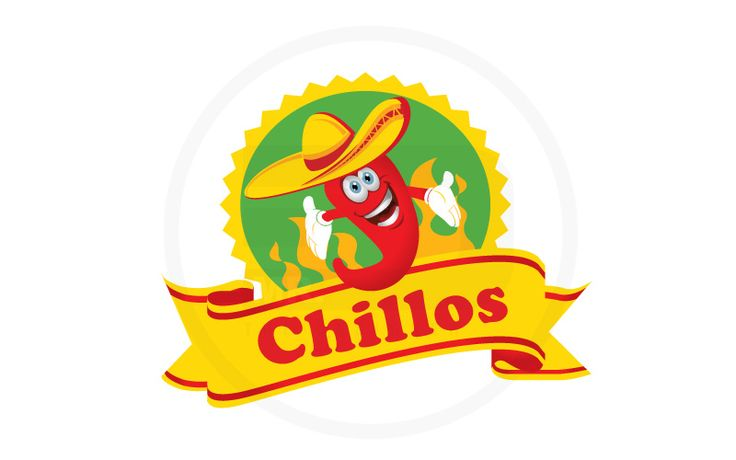 Logo concept for a chilli sauce product.