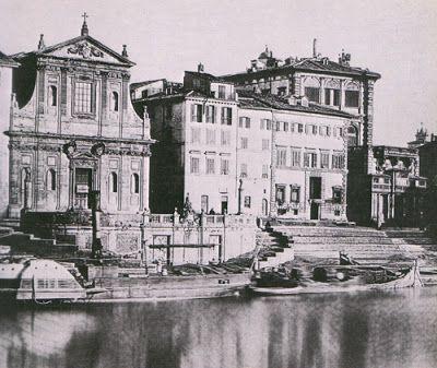 Storia & Enigmi: I porti di Roma: Ripa, Ripetta e Leonino