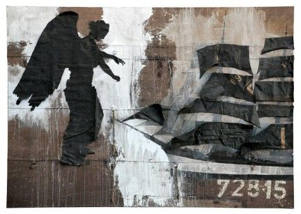 LUCA PIGNATELLI http://www.widewalls.ch/artist/luca-pignatelli/ #painting