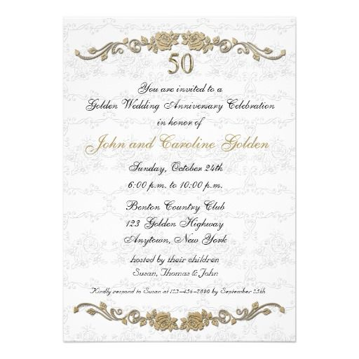 Best ZzzTh Anniversary Invitations Images On