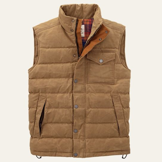 Men's Mount Davis Waxed Down Vest