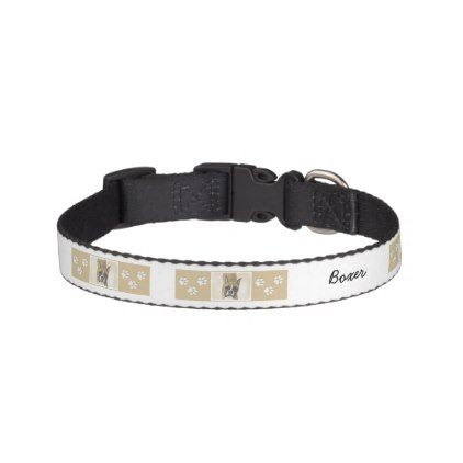 #Boxer Pet Collar - #boxer #puppy #boxers #dog #dogs #pet #pets #cute