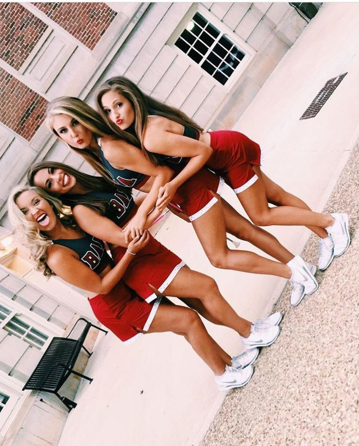 Cute cheer squad picture