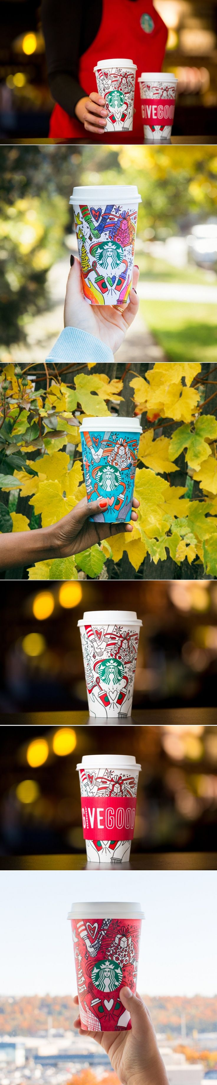 The Starbucks Holiday Cup is Here, and You Can Make it One-of-a-Kind — The Dieline | Packaging & Branding Design & Innovation News