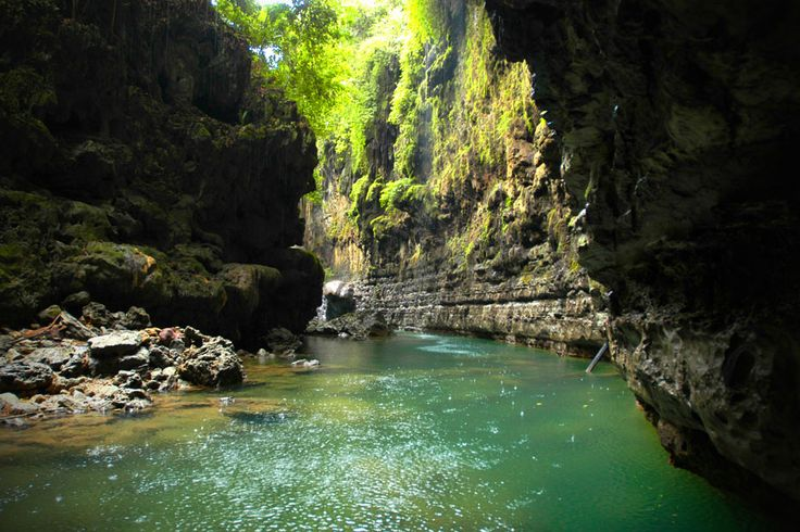 "The Green Canyon, yes, make no mistake it's not America's Grand Canyon. But it is Pangandaran's own Green Canyon, ""a piece of heaven on earth""- as those who have visited it describe it- Green Canyon is a must for those who plan to visit Pangandaran, at the southern coast of West Java."