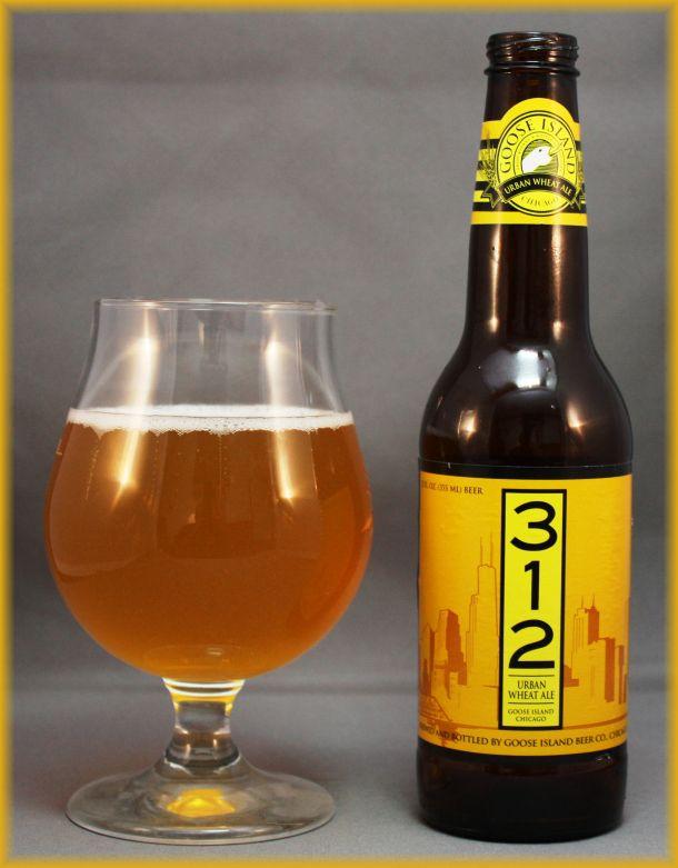 312 Urban Wheat Ale - Goose Island Brewing Company, Chicago, Illinois