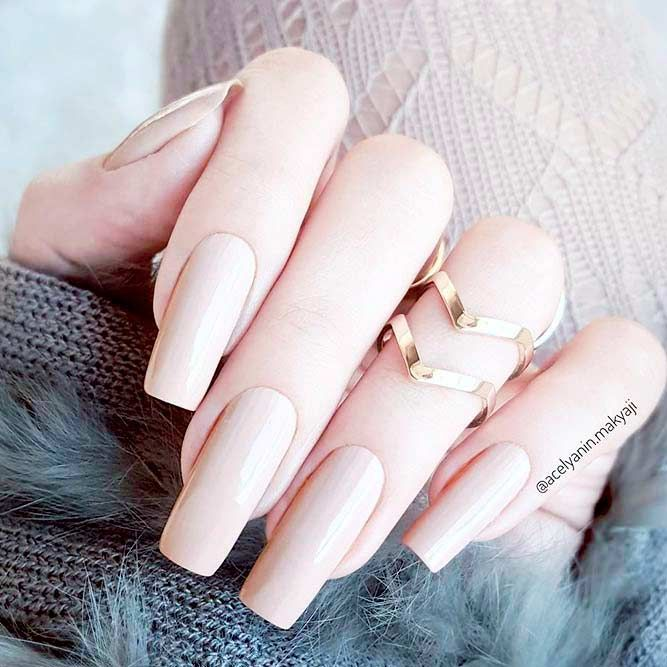 Examples of Beautiful Long Nails to Inspire You ❤️ Long Square Nail Designs picture 1 ❤️ These days long nails are not anything special, and everyone can try wearing them out. What is more, there are trends to follow, and we happen to know all about the freshest ideas when it comes to your nails. https://naildesignsjournal.com/long-nails-ideas/  #nails #nailart #naildesign  #longnails