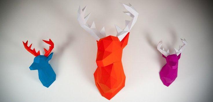 Pas d'idée pour vos cadeaux de Noël ? Pensez au papertrophy (et dites adieu aux animaux empaillés !) :)    // http://www.leparisienheureux.fr/papertrophy/  //   #PaperTrophy #LeParisienHeureux #LPH #CadeauxDeNoel #Noel