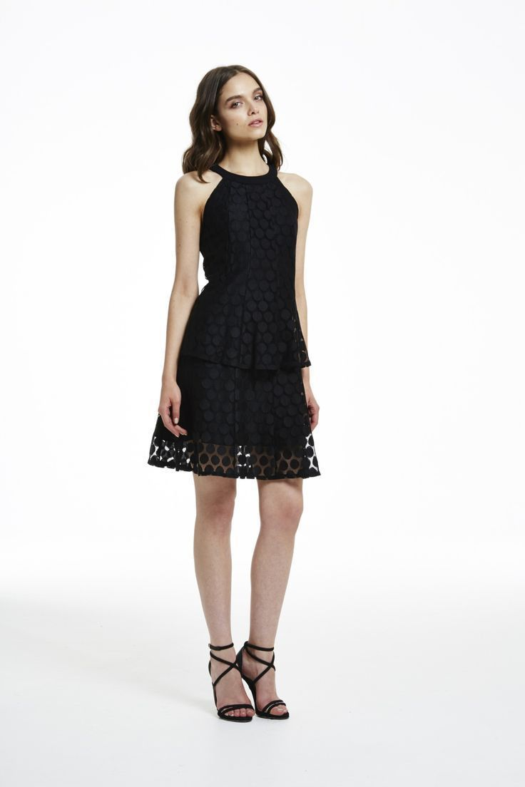 Cooper St - Counting Stars Swing Black Dress