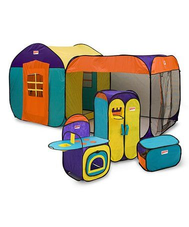 This Luxury Playhouse Set is perfect! #zulilyfinds