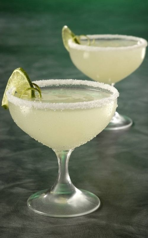 easy margarita recipe: 1 can frozen limeade | 12 oz tequila | 24 oz sprite | 1 corona